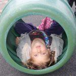 using playground equipment
