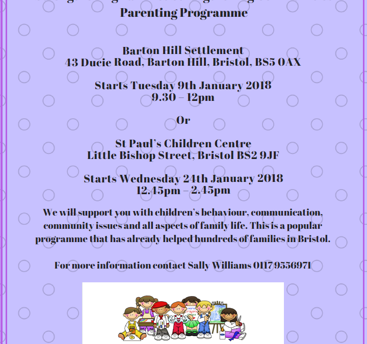 Strengthening families parenting programme