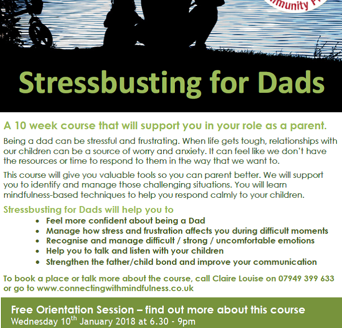 Stressbusting for Dads
