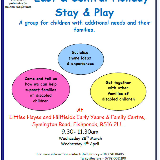 East & Central Stay & Play Easter 2018