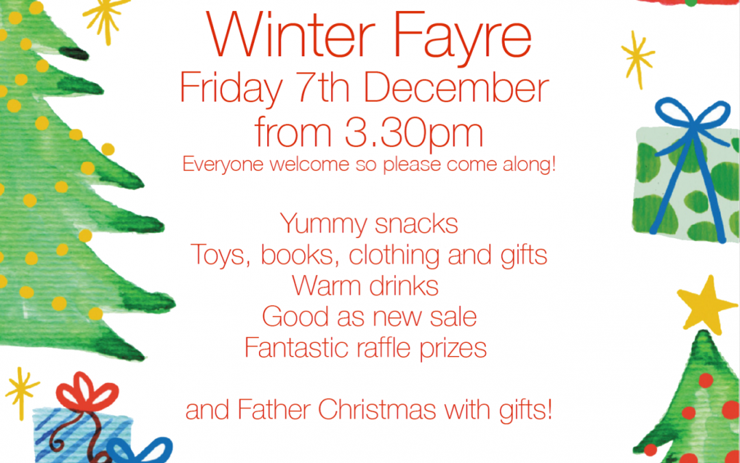 Winter Fayre – please come along