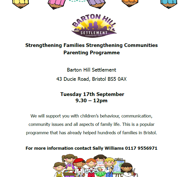 Strengthening families programme