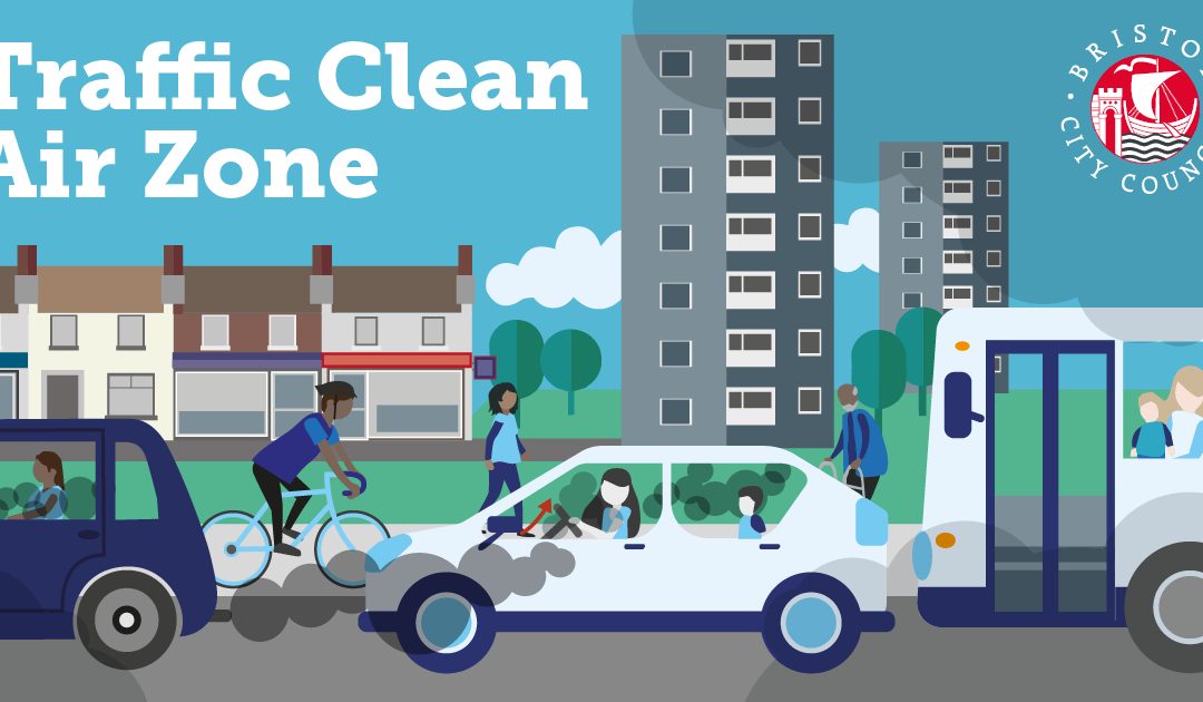Consultation on options for a Traffic Clean Air Zone for Bristol – have your say until 12 August 2019