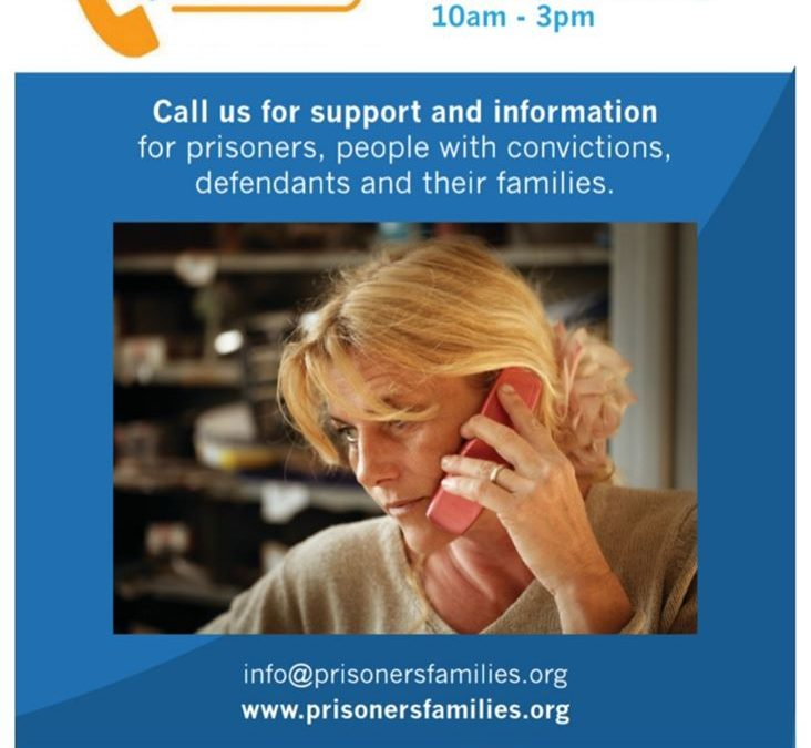 Support for families with a parent in prison