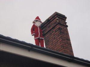 When Santa got stuck