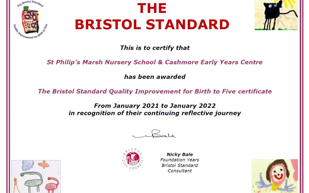 Bristol Standard award
