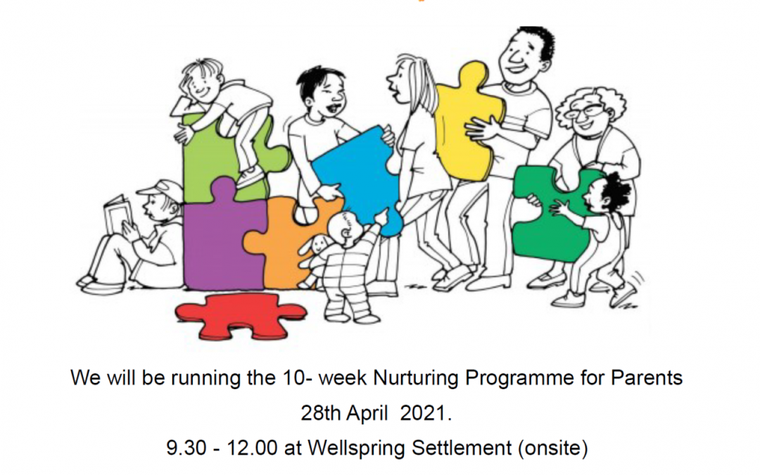 New nurture programme for parents starts in April